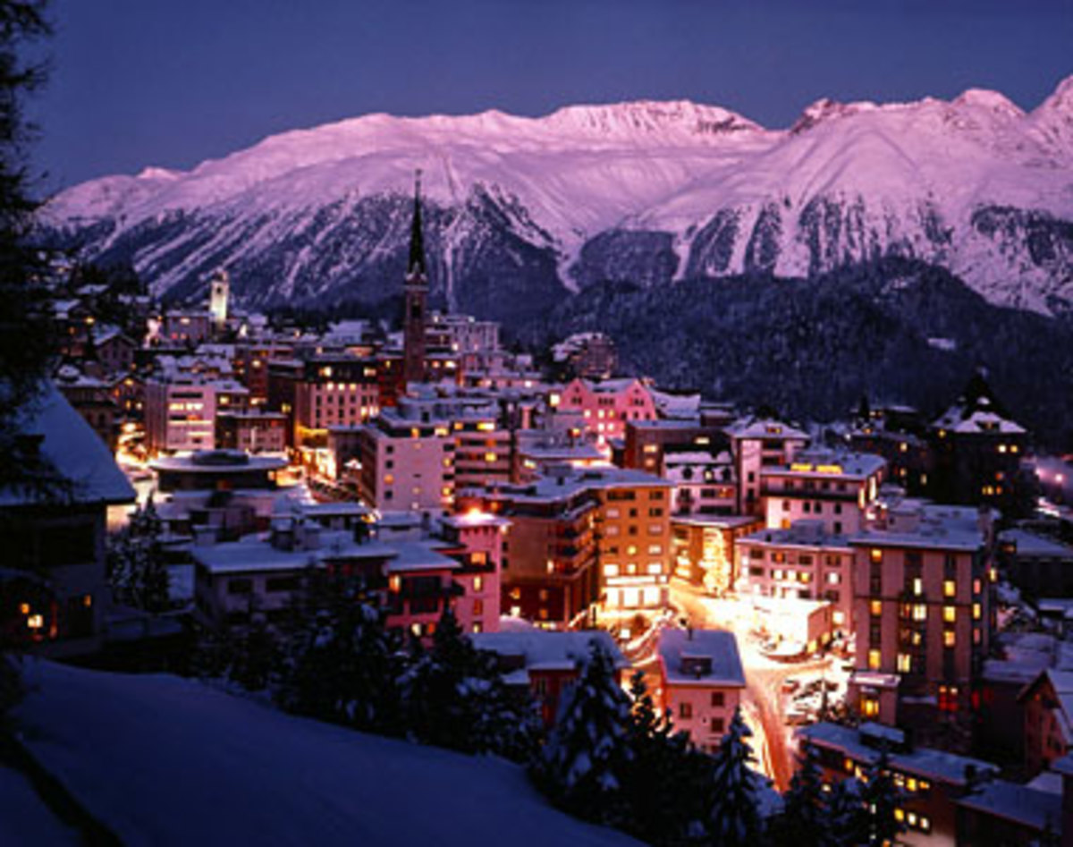 7. St. Moritz, Switzerland