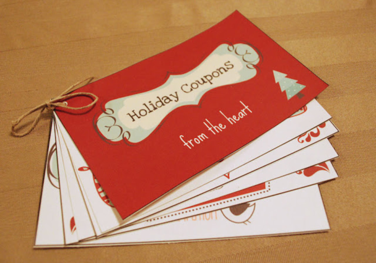 Printable Holiday Coupon Book
