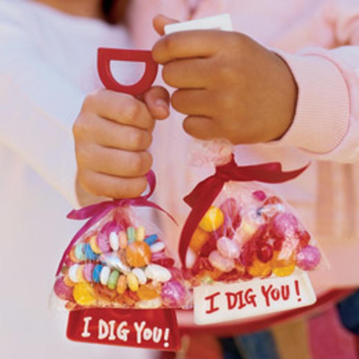 i dig you valentine craft