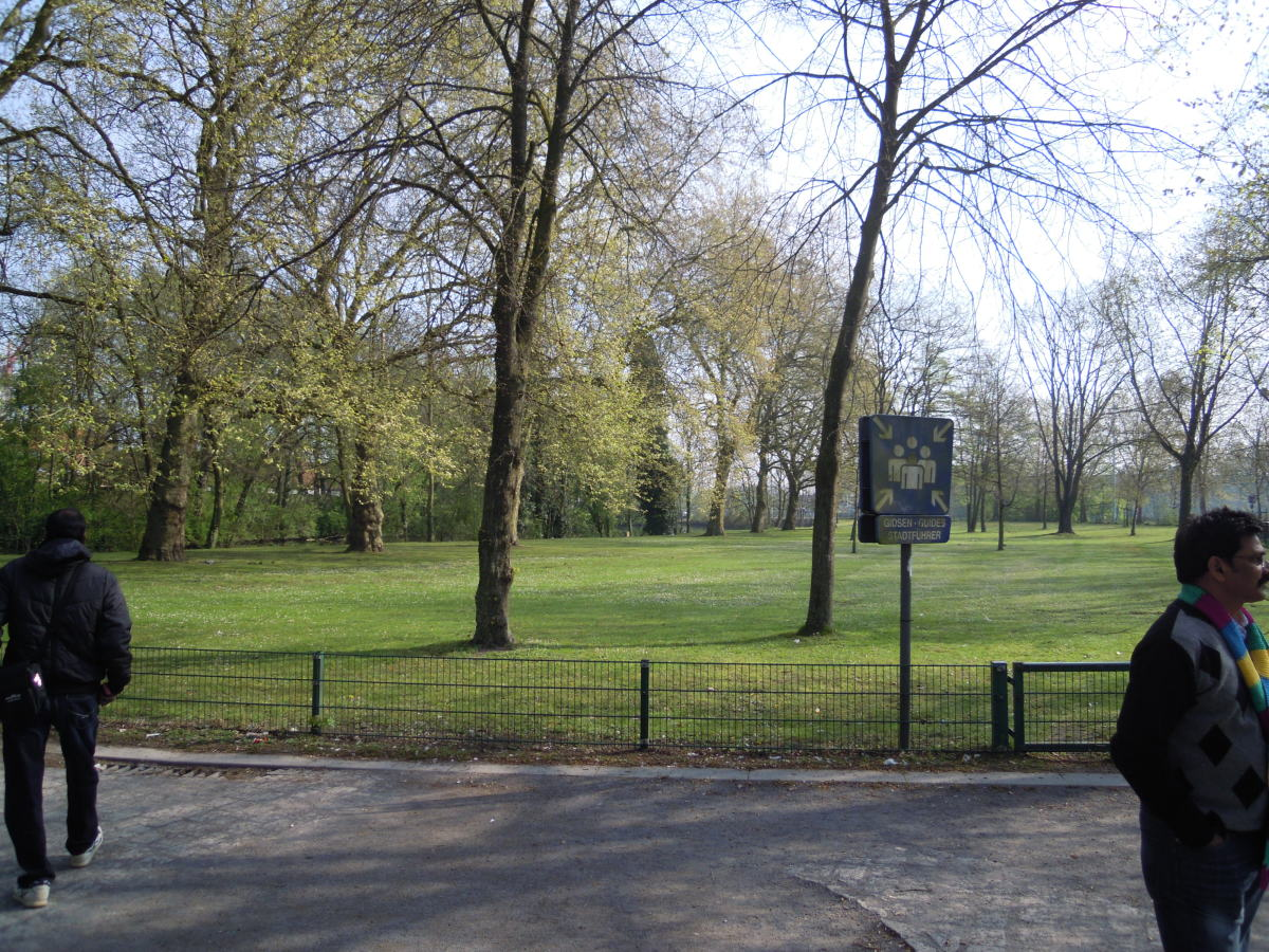 Walking in the park!