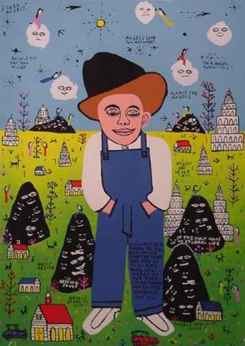 Howard Finster: Southern Preacher, Folk Artist, a Man of Visions