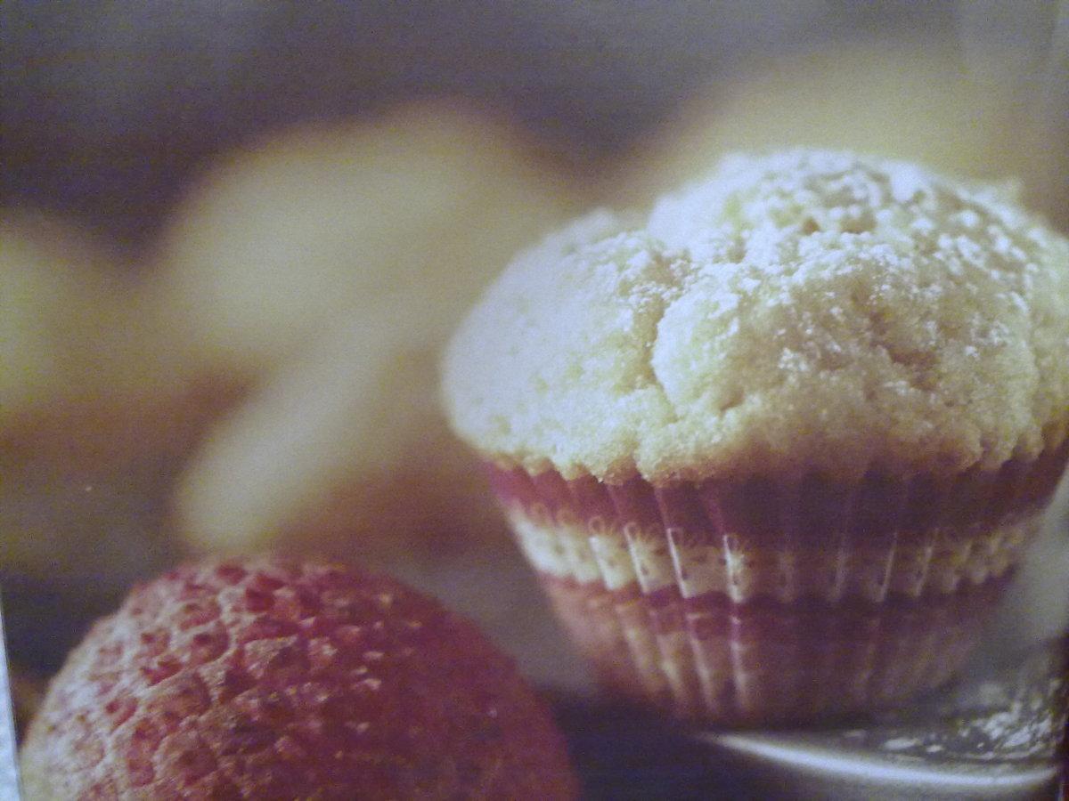 Mini Lychee Cupcakes