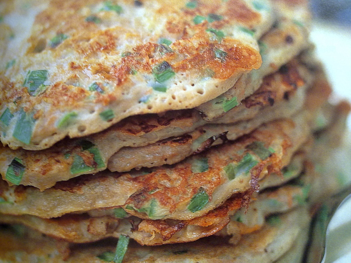 Carrot Potato Pancake