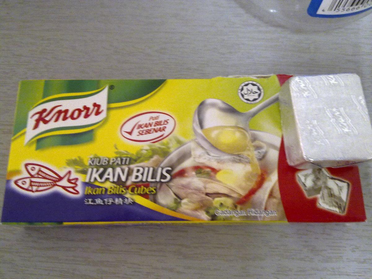 ikan bilis ( anchovies) stock