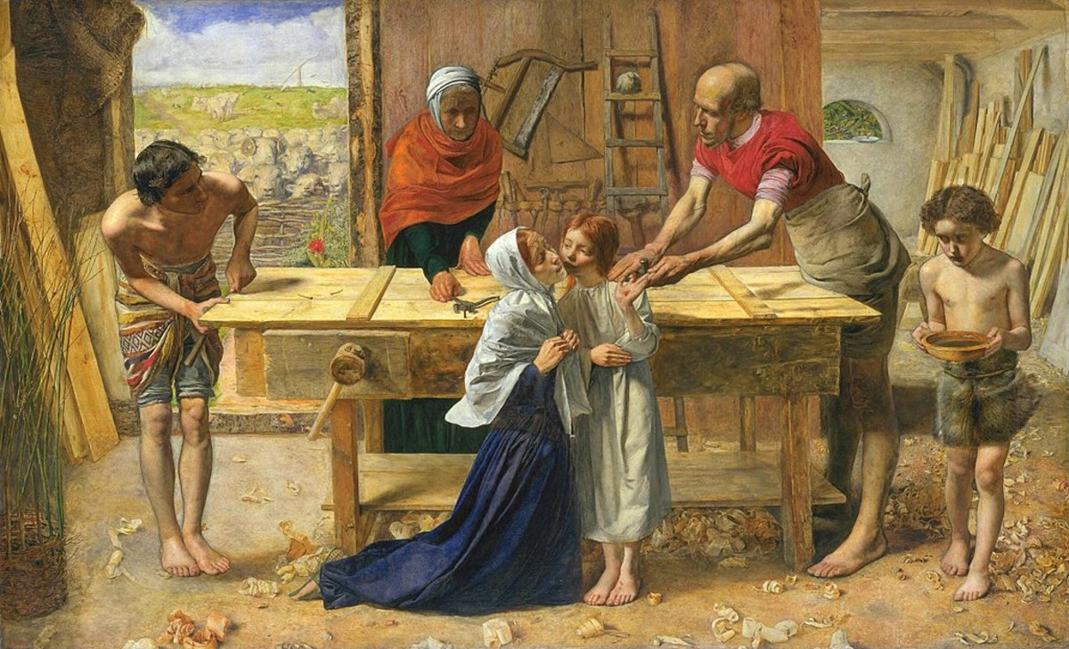 Christ in the House of His Parents by John Everett Millais 1849/50