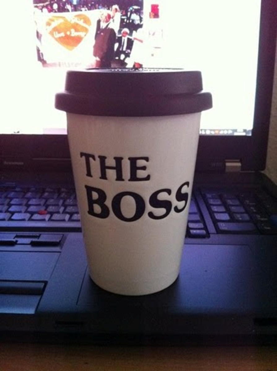 Typical Office Candor: The Boss
