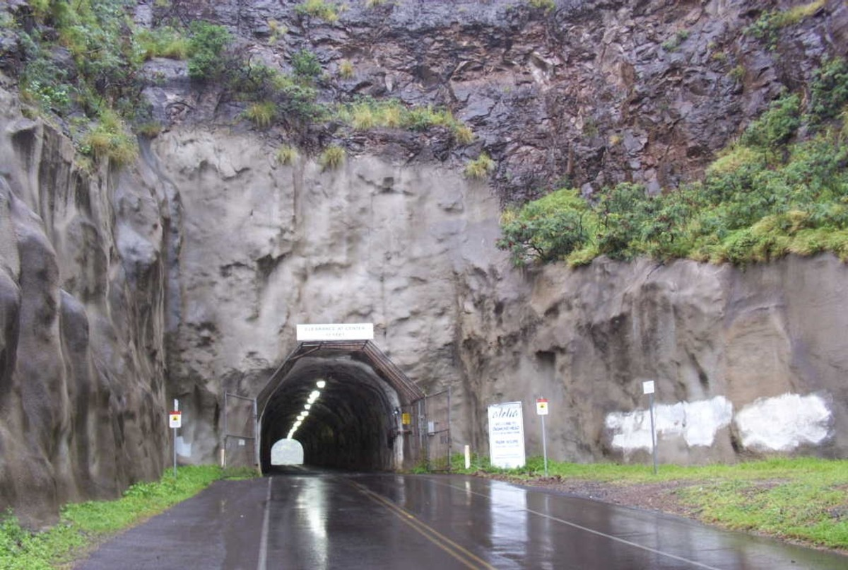 Tunnel underneath Diamond Head