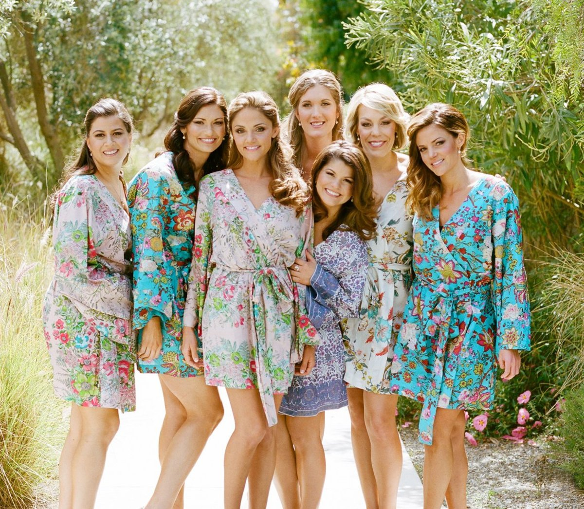 Treat your girls to a comfy and quality robe that they can use even after the wedding.
