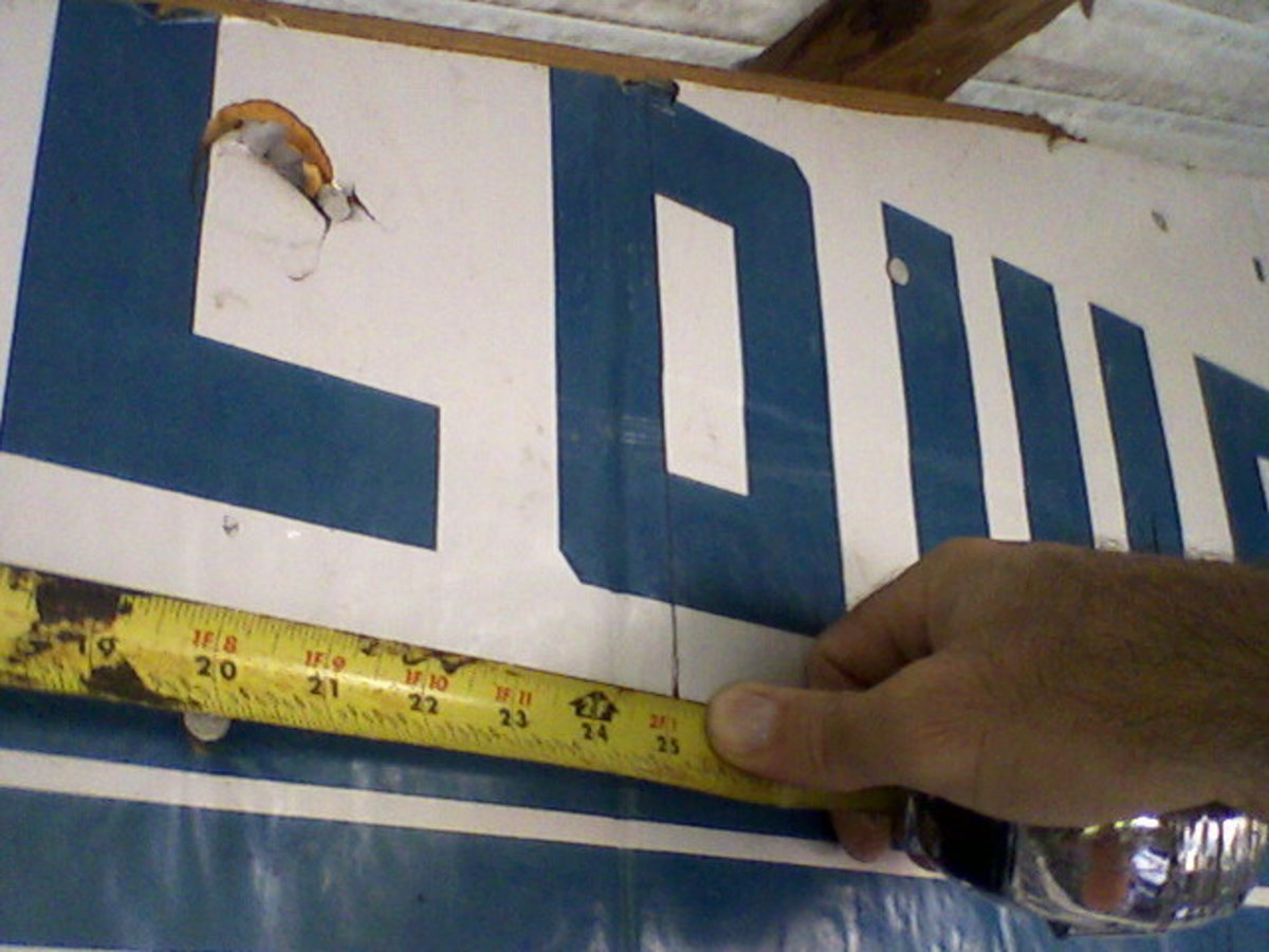 "Measure the distance from the eave line to the place where you measured the ""rise.""  This is the ""run."""