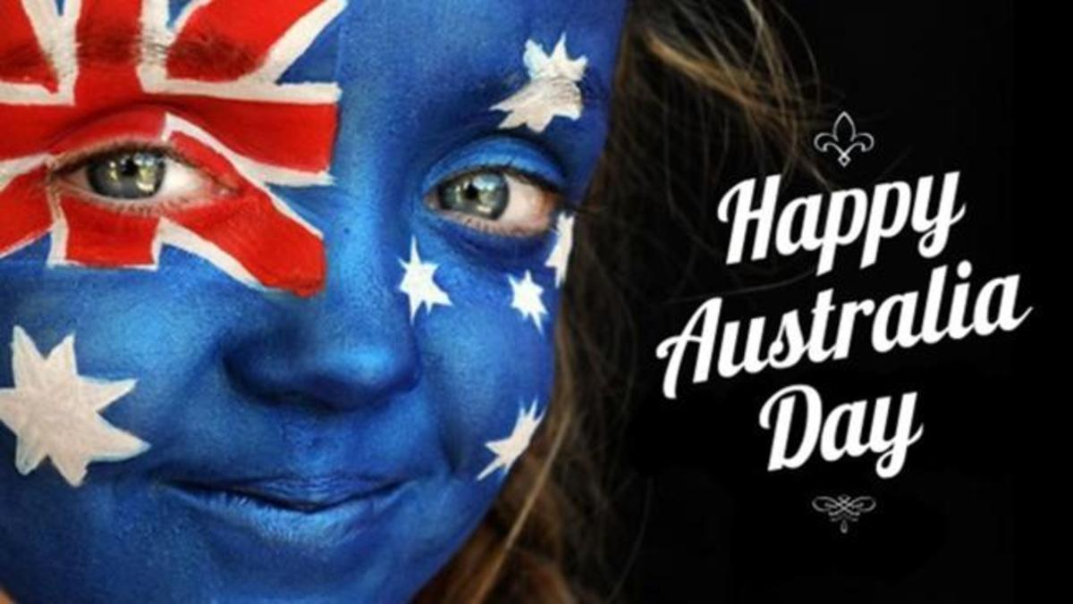This is Australia Day (26th January)