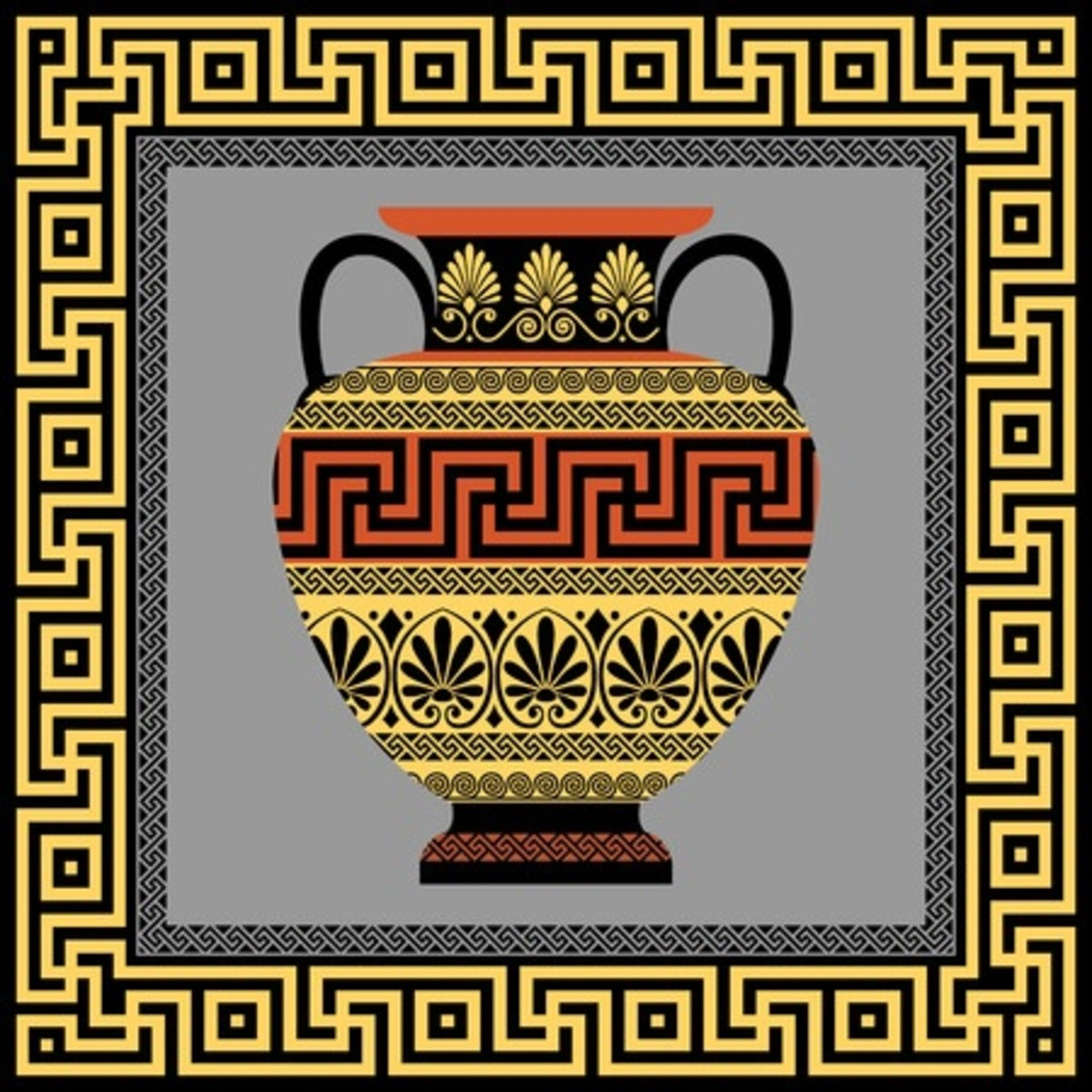 Grecian urns have a beauty all of their own and are popular souvenirs