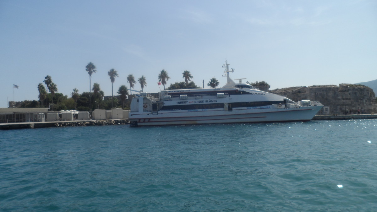 Ferry from Kos to Bodrum