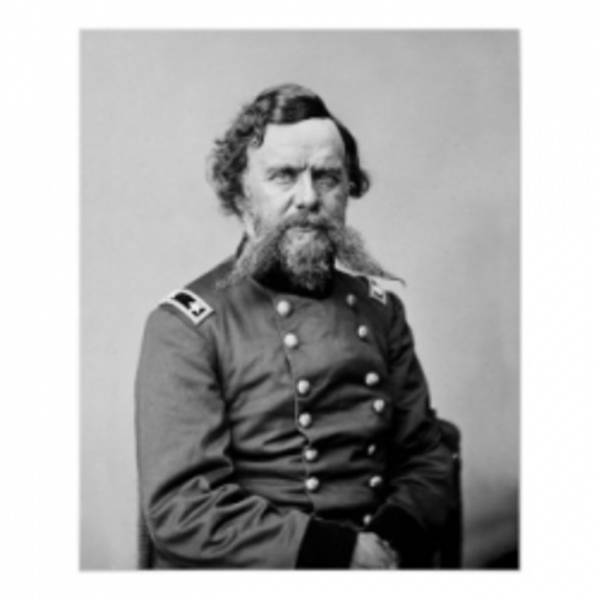 Unknown Union Officer 1860s.