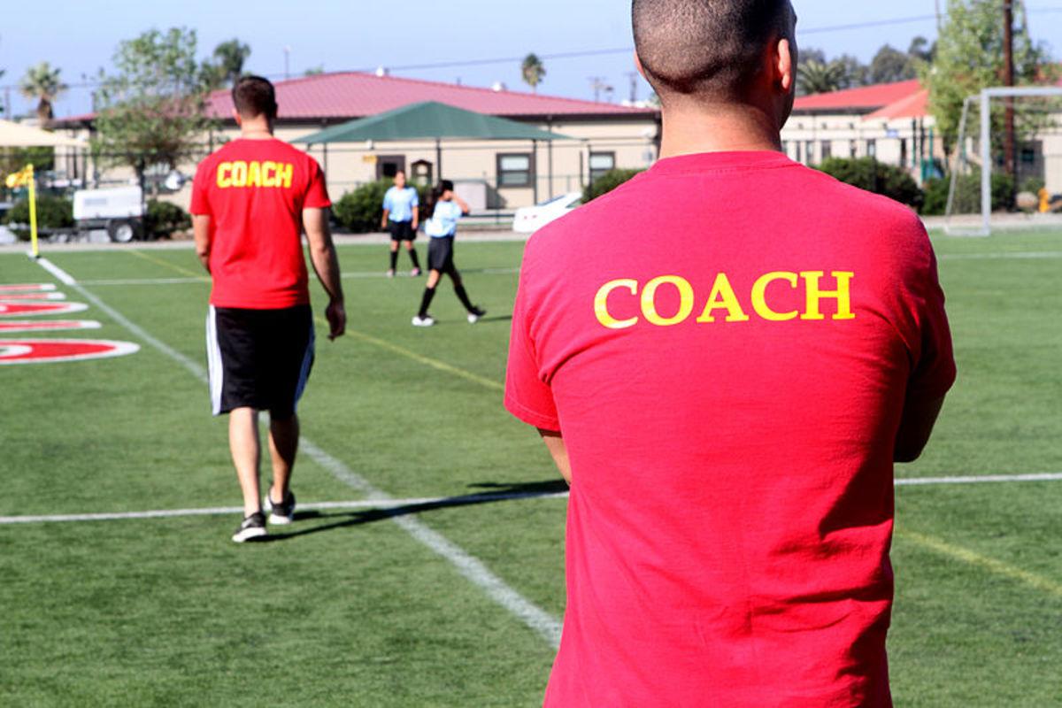 A coach