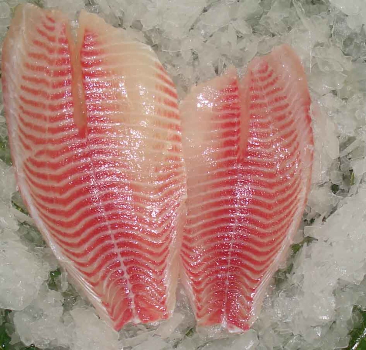 A typical Tilapia filet.