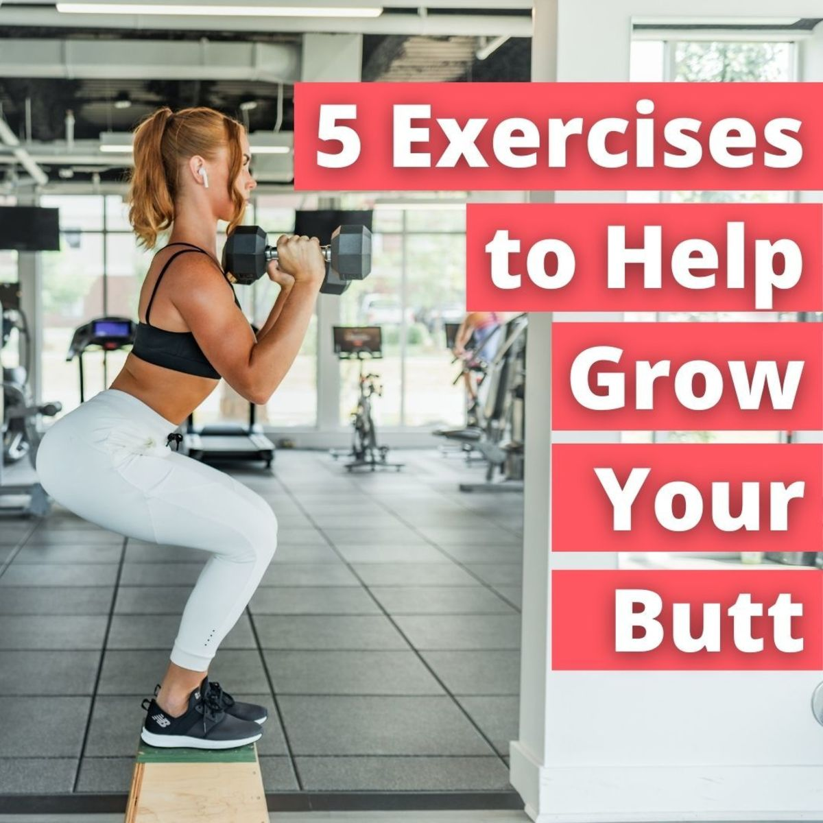 Training for a bigger butt isn't just about taking mirror selfies at the gym and looking good in a pair of jeans. It's about building a strong, well-rounded body capable of climbing mountains and going long distances.