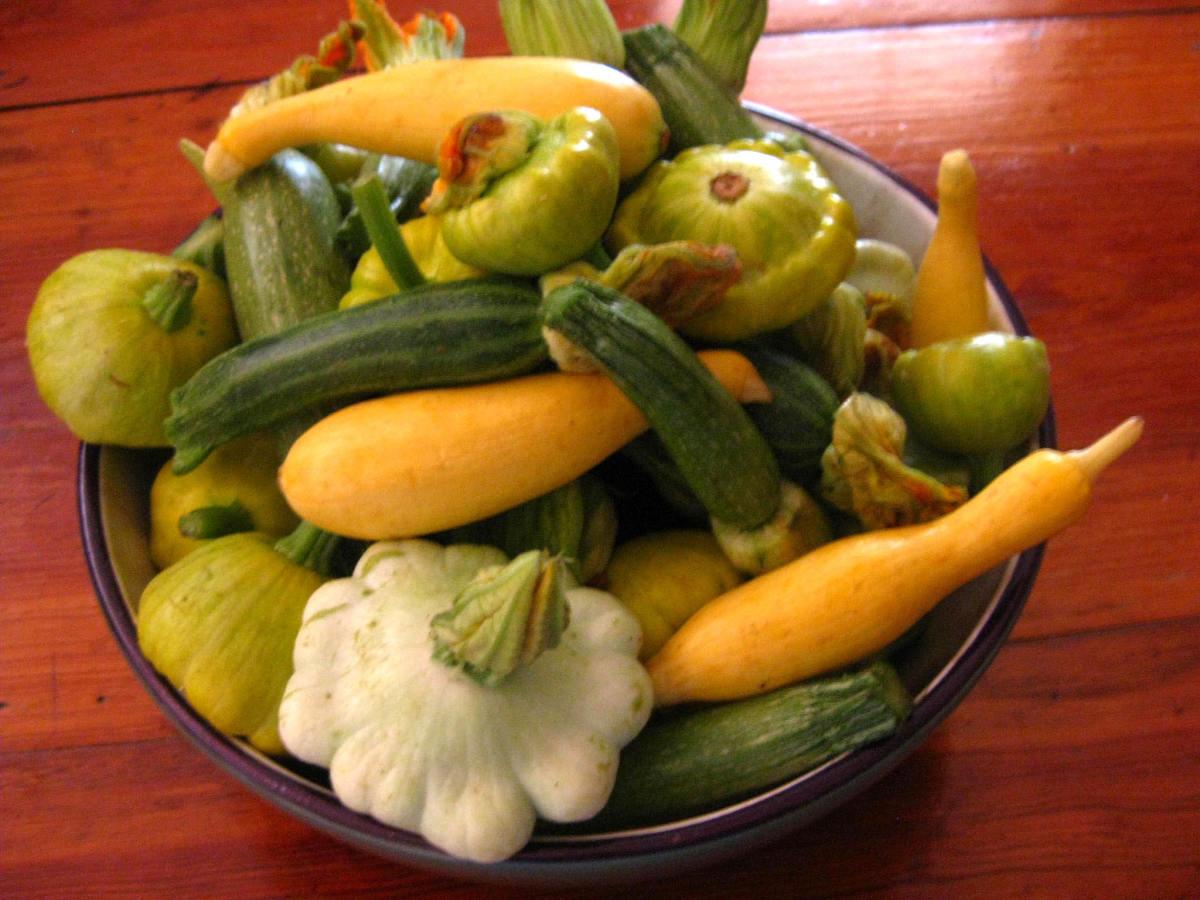 Organic veggies, that is!
