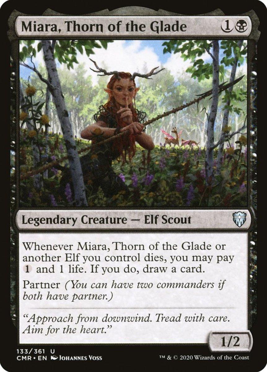 Miara, Thorn of the Glade mtg