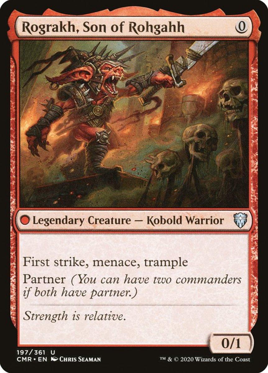Rograkh, Son of Rohgahh mtg