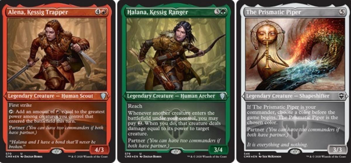 Partners from Commander Legends