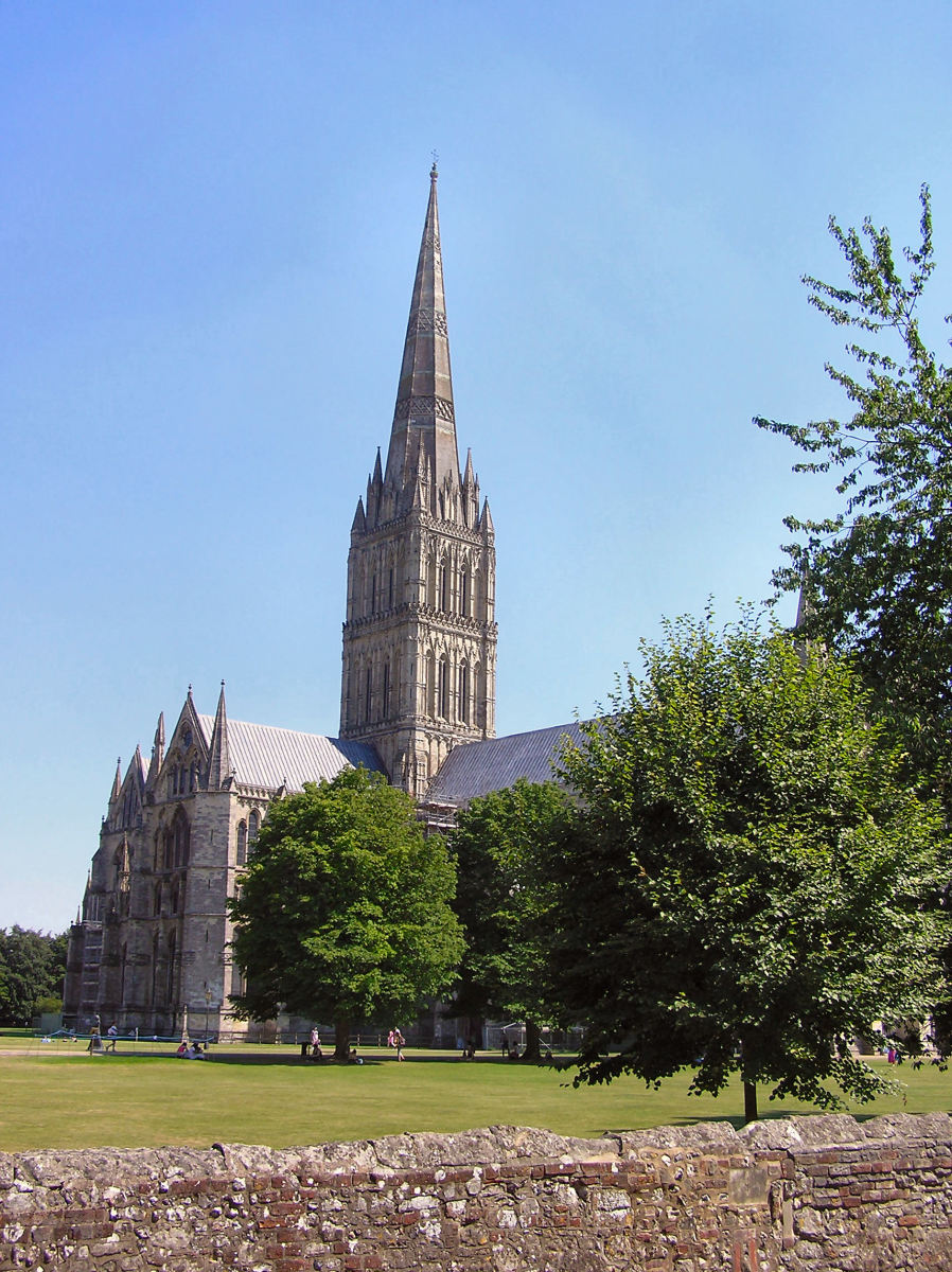 Salisbury Cathedral, a Gothic Church