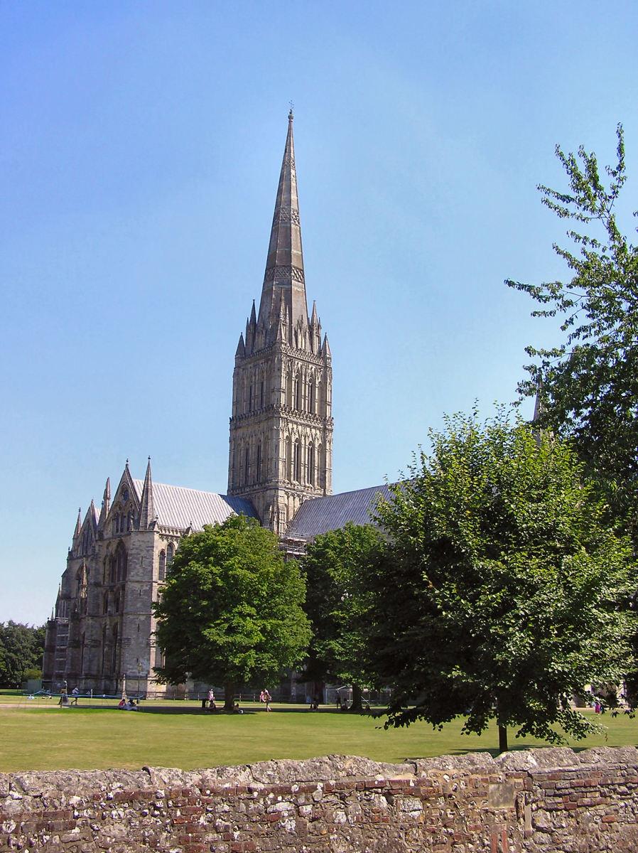 Salisbury Cathedral, a Gothic Church