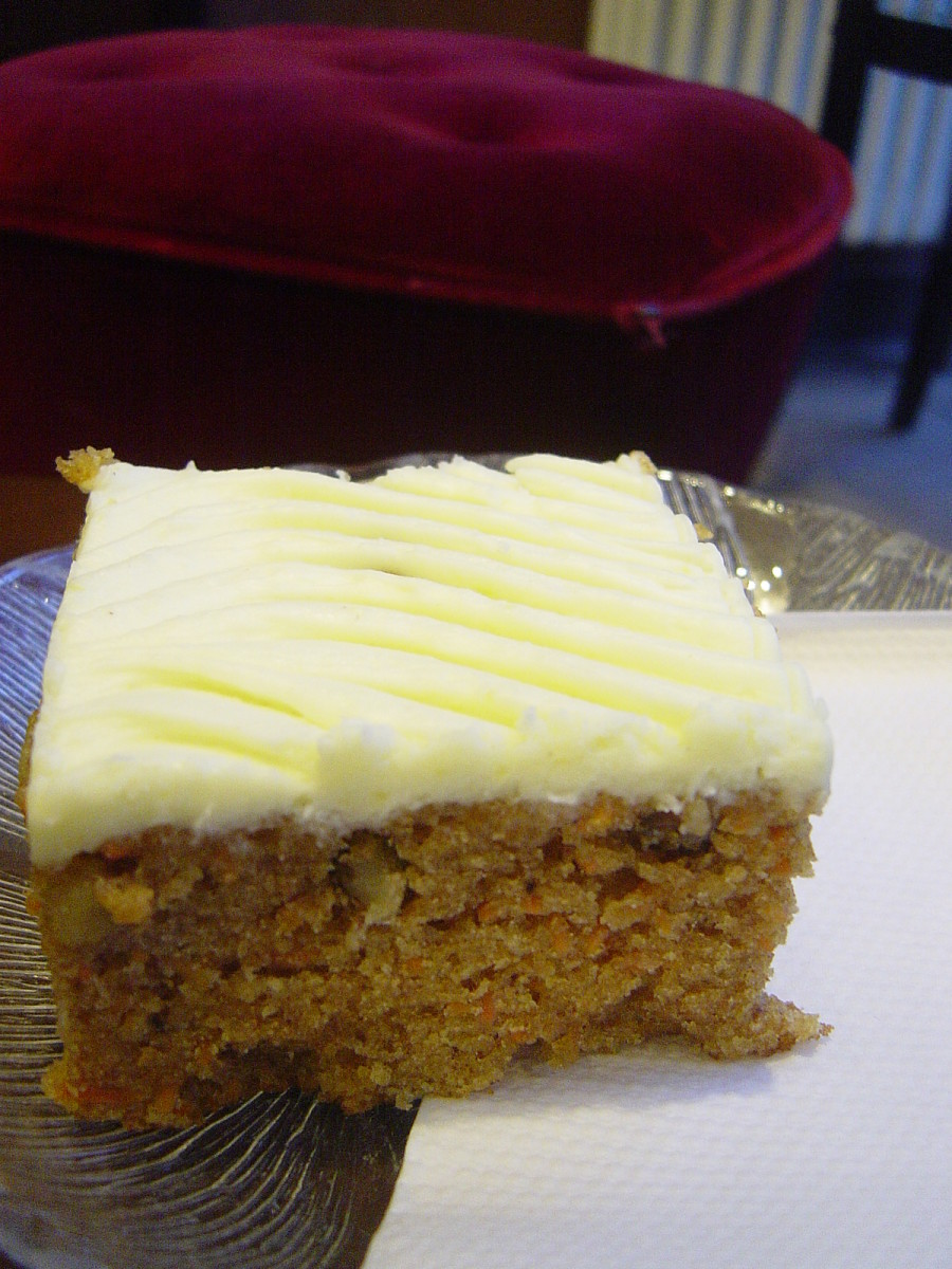 Carrot cake - a delicious way to enjoy health boosting carrots.