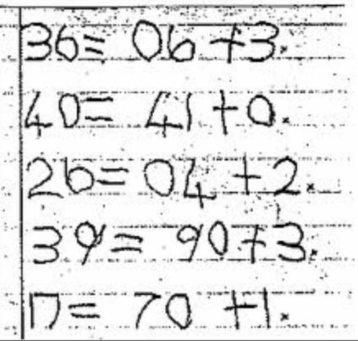 Dyscalculia may be similar to dyslexia but have more of an impact on the perception of numerical digits than other graphemes like letters.