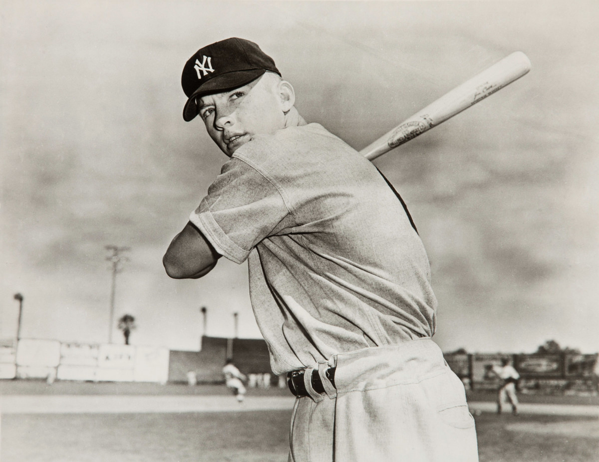 Mickey Mantle had one of the best individual seasons in baseball history in 1956.