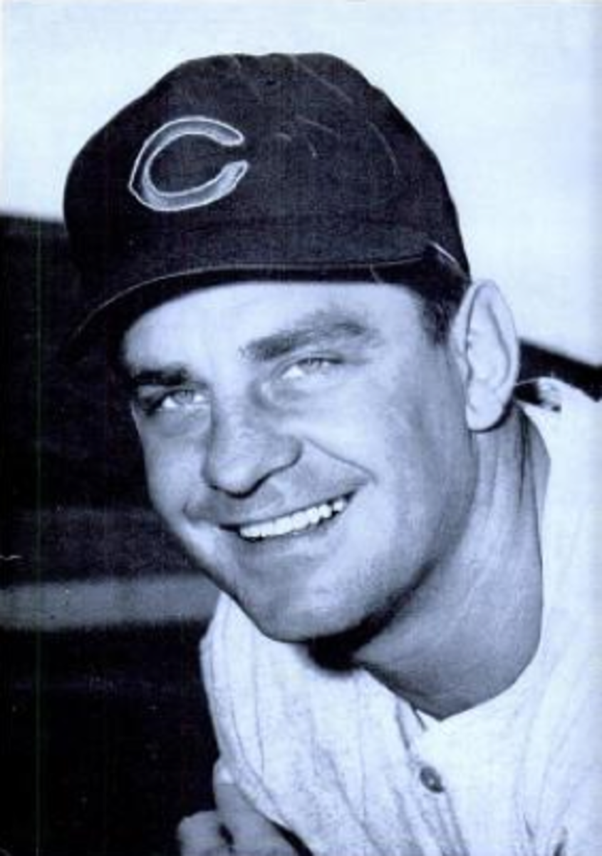 Ted Kluszewski was a potent power hitter and is known for his time with the Reds.