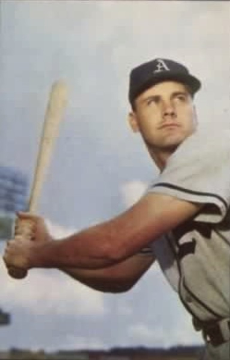 Gus Zernial is not the most well-known player, but was among the most feared sluggers for most of the 1950s.