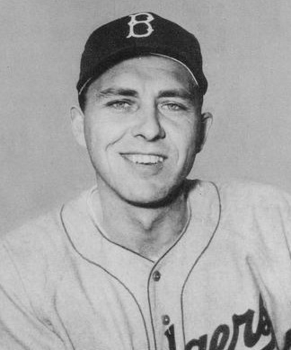 Gil Hodges was one of two Dodgers to hit more than 300 home runs during the 1950s.