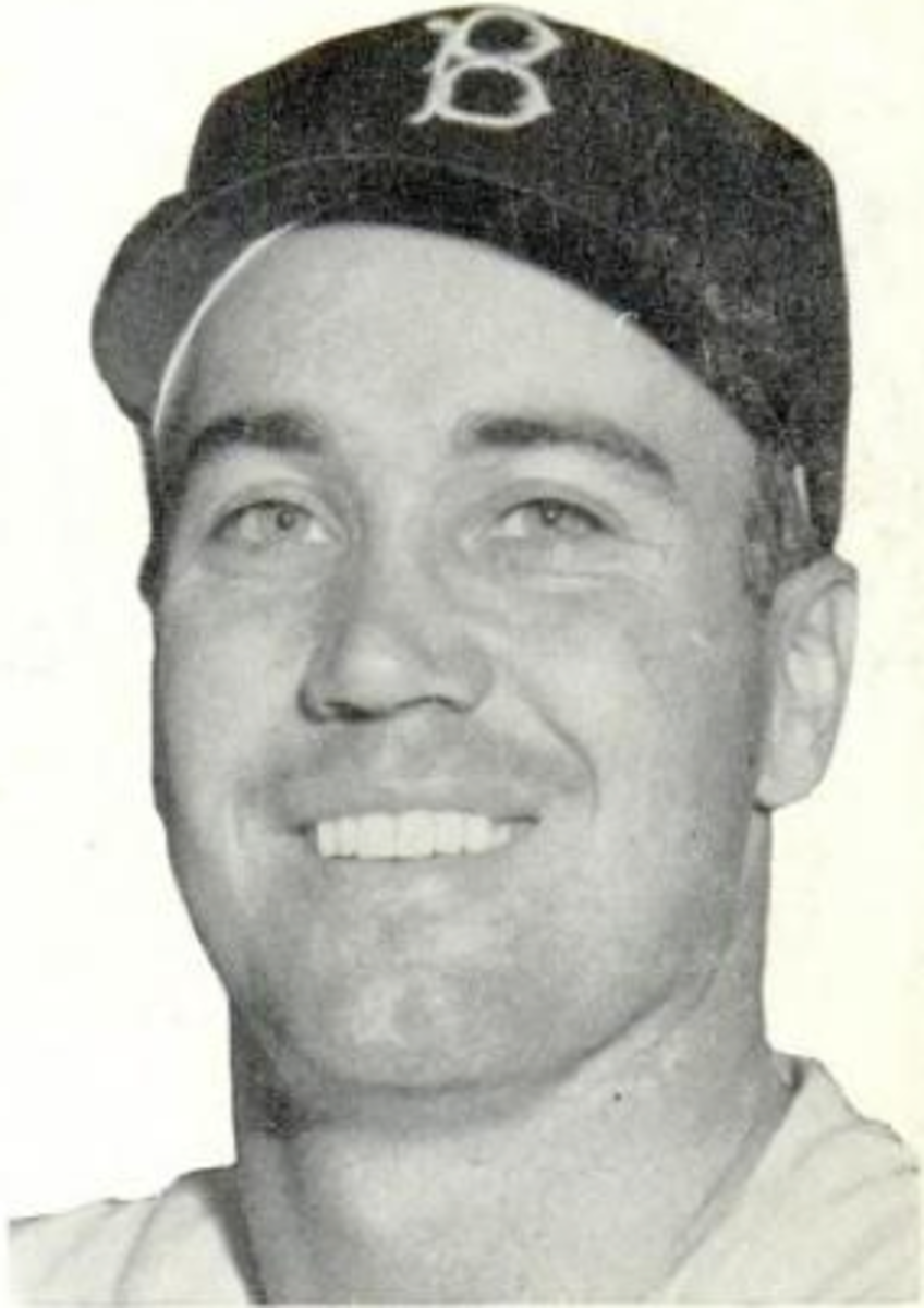 Duke Snider was the decade home run leader for the 1950s.