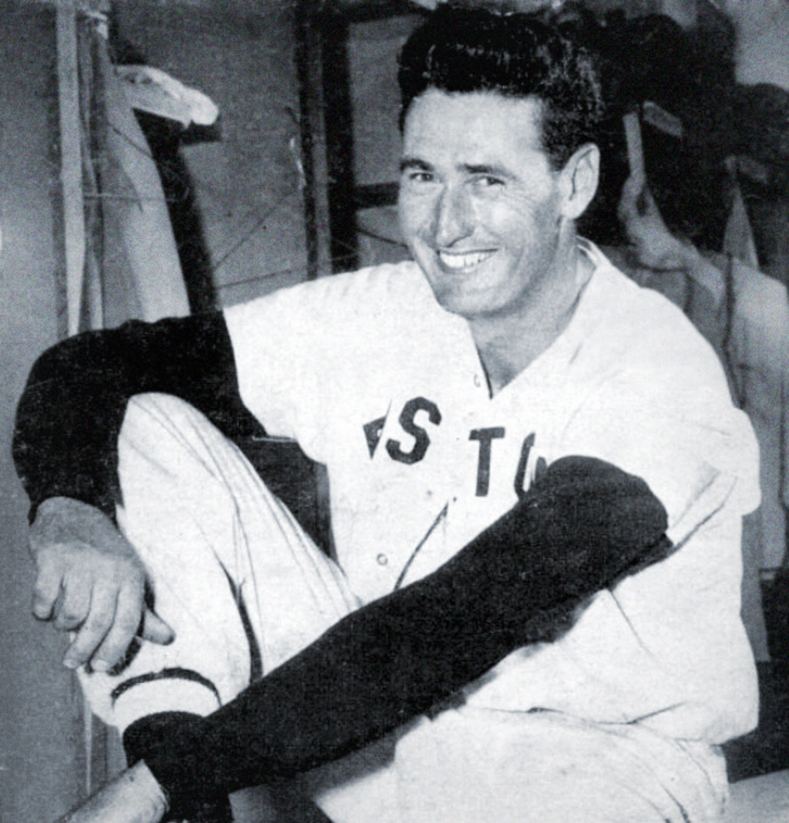 Despite playing just 43 total games between 1952 and '53, Ted Williams was still one of the best home run hitters throughout the 1950s.