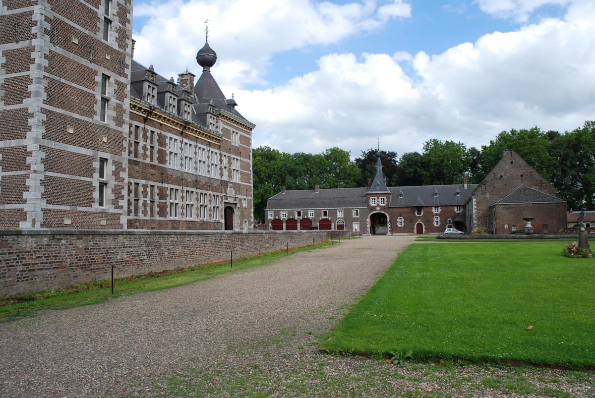 The castle at Eijsden, The Netherlands