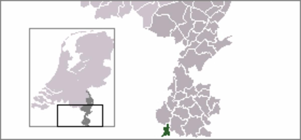 Map location of Eijsden