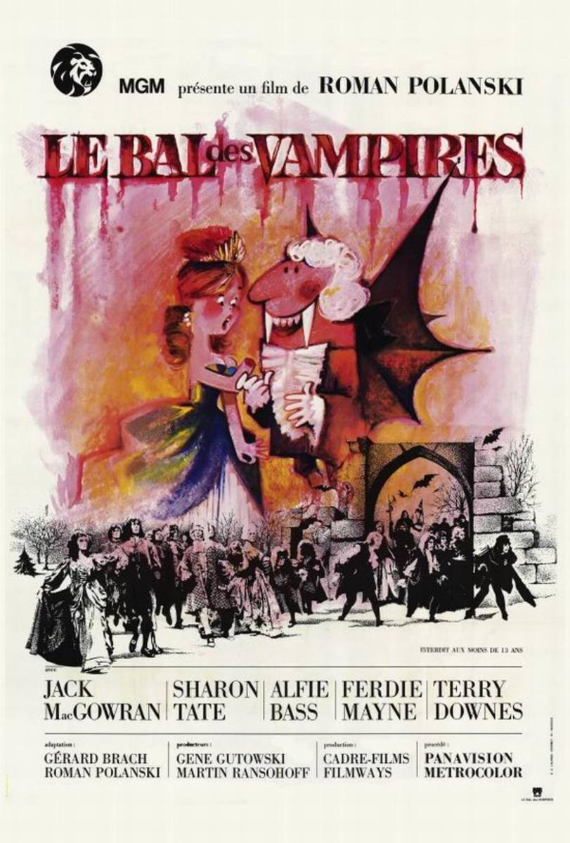 Dance of the Vampires (1967) French poster