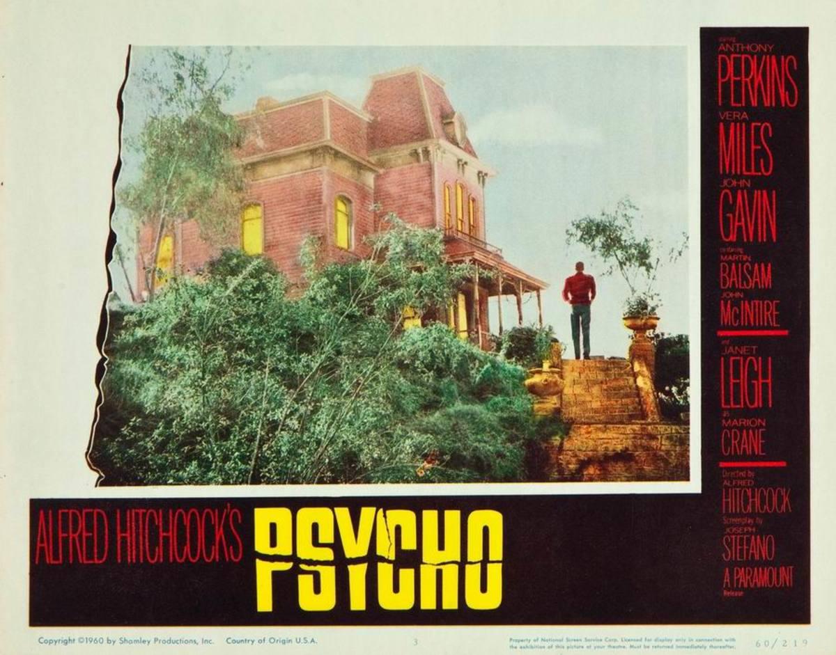 Psycho (1960) Lobby card