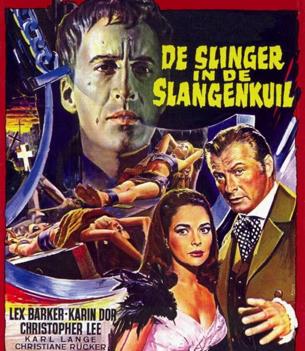 The Torture Chamber of Dr. Sadism (1967) Dutch poster