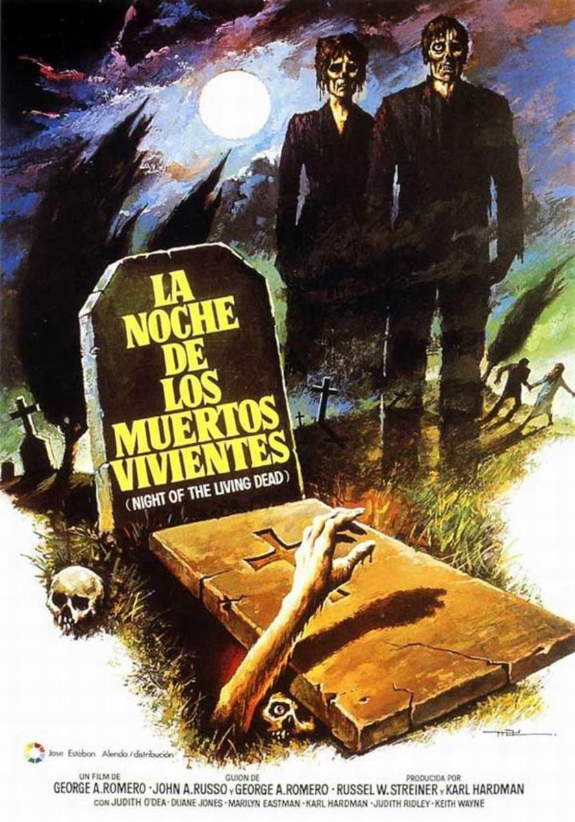 Night of the Living Dead (1968) Spanish poster