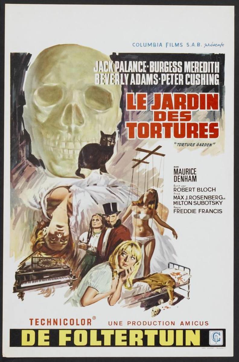Torture Garden (1967) Belgian poster