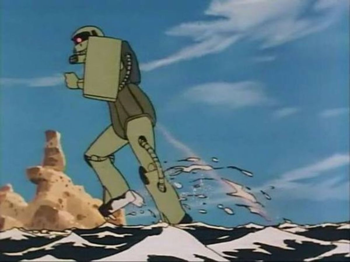 That's the puniest Zaku I've seen.
