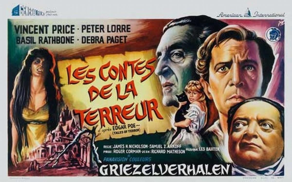 Tales of Terror (1963) Belgian poster