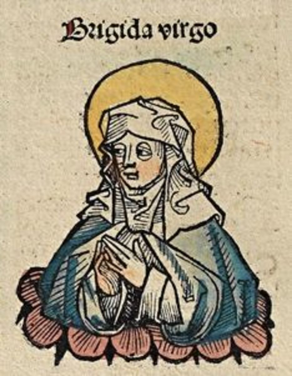 Brigid as Saint