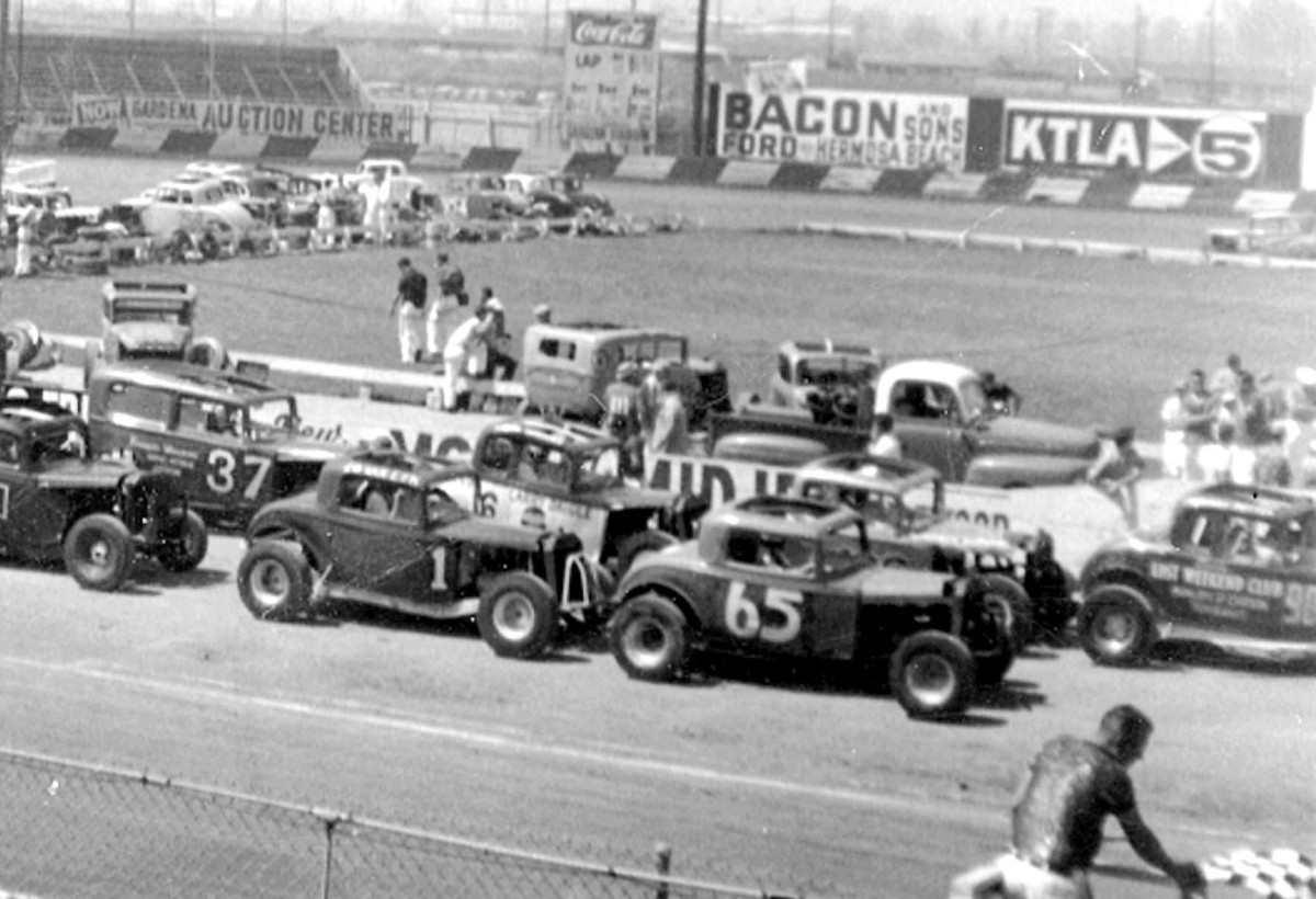 From the Junkyard to the Racetrack, these jalopies would race, get wrecked, and be repaired over and over again