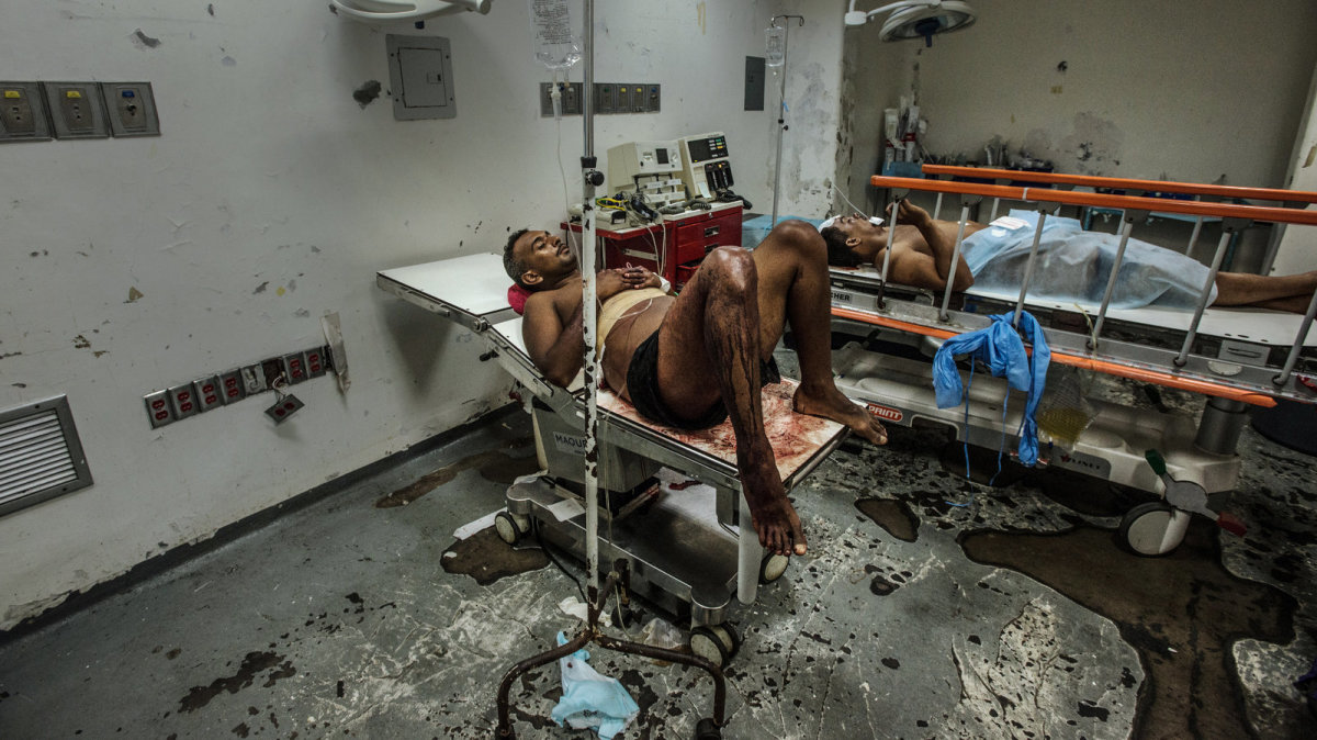 Hospital in Venezuela with Socialized Medicine