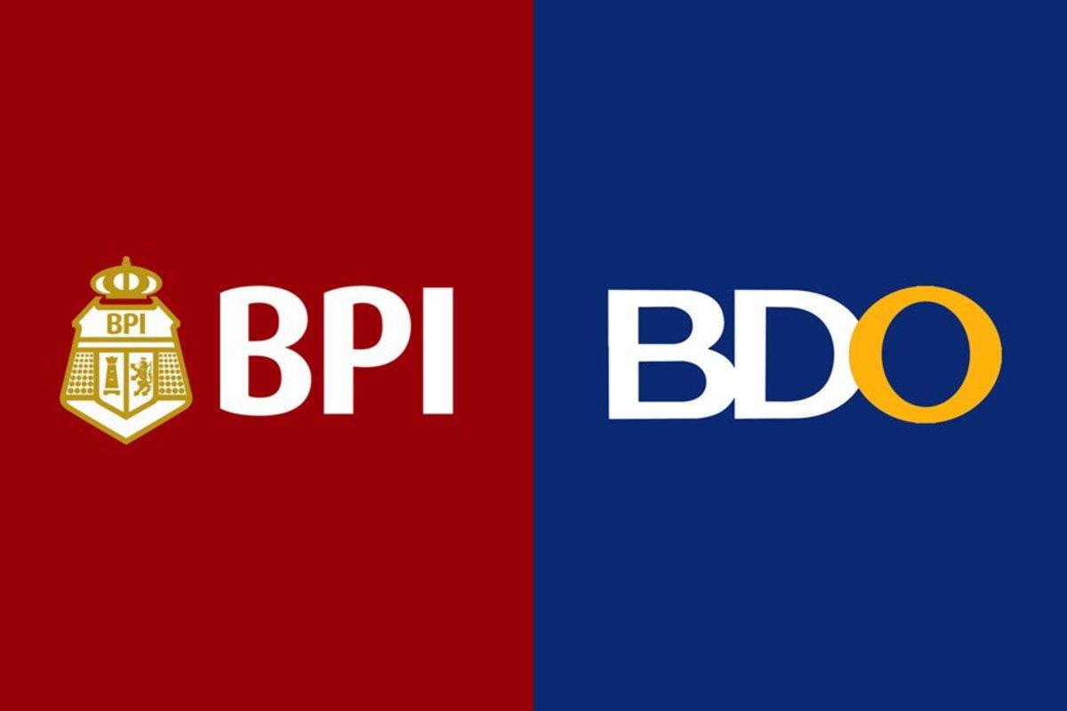 Bank of the Philippine Islands (BPI) and Banco De Oro (BDO) logo