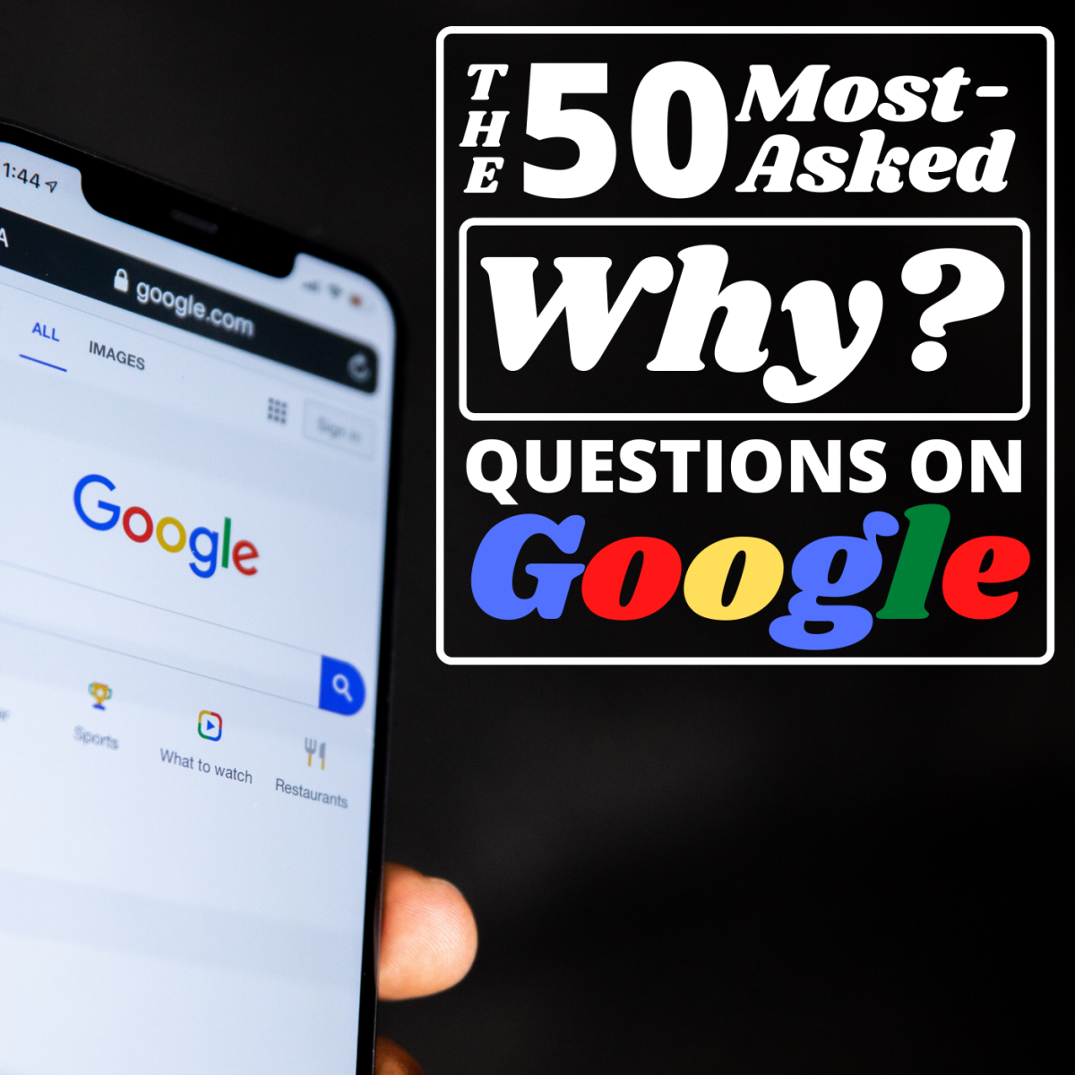 What are people asking Google most?