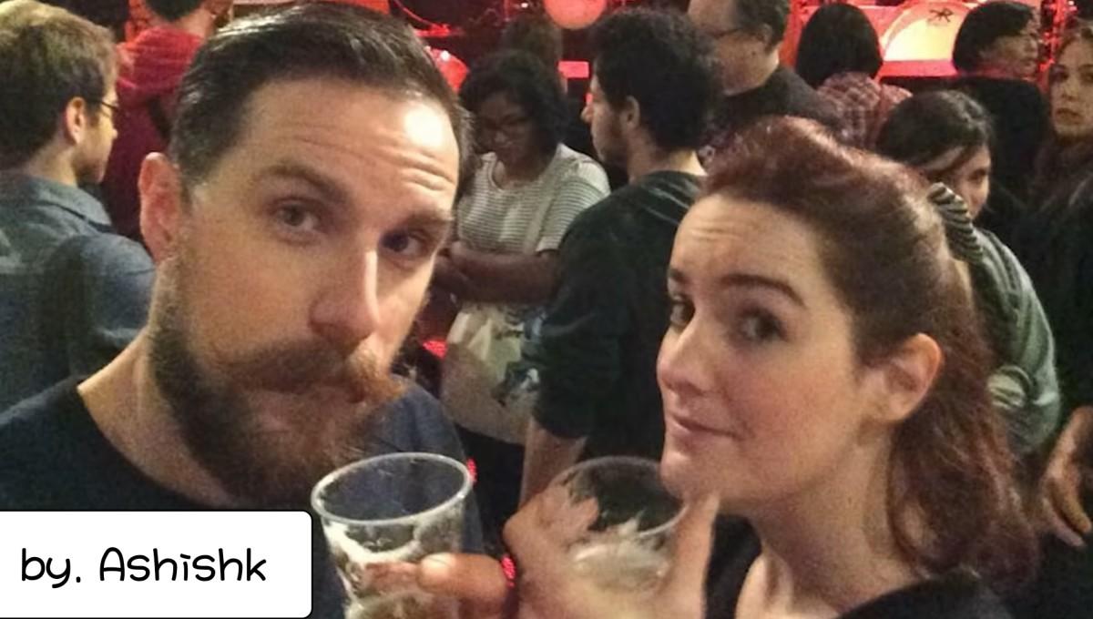 The Battle Clan Theatre Selfie