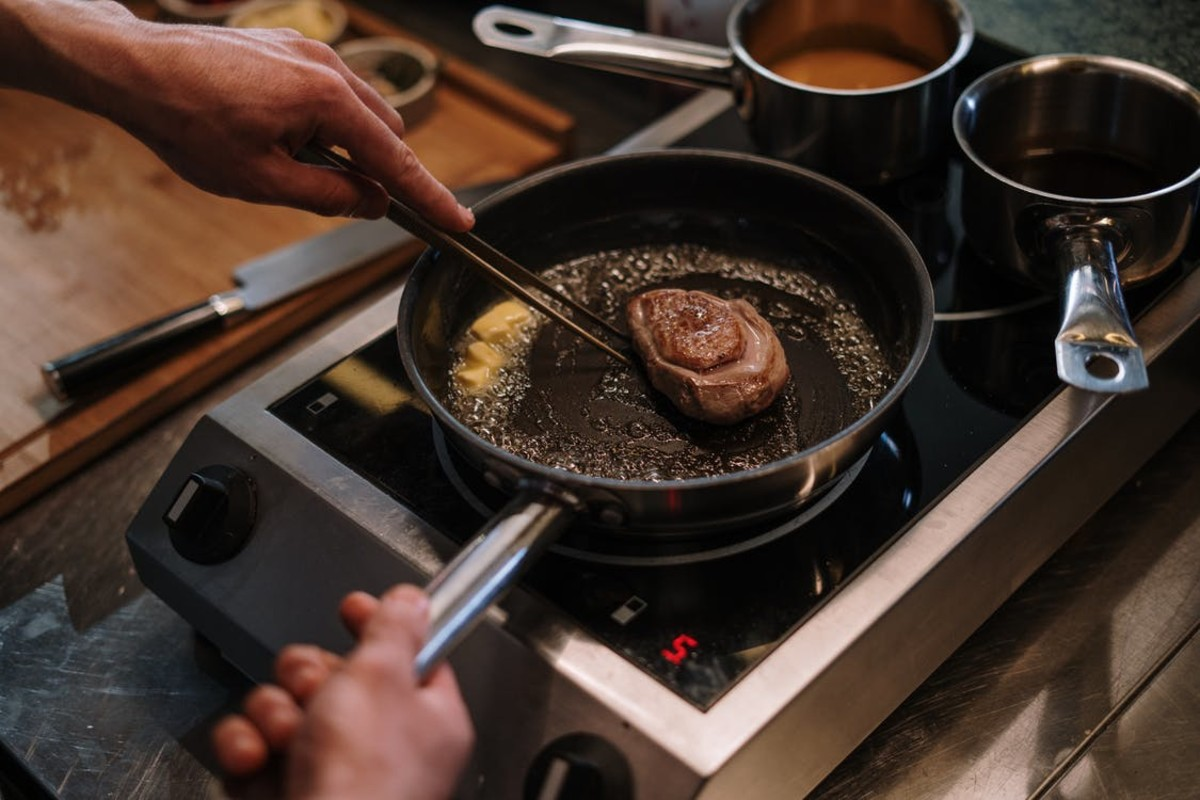 The Super Skillet can cook anything and stand the work as well.